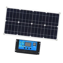 Flexible Solar Panel Photovoltaic PV Module for RV Boat Cabin Tent Car Trucks Trailers
