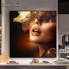 Bricolage diamant peinture artistique maquillage femme pour la décoration de la chambre diamant broderie mosaïque point de croix décor mural à la maison TT1008