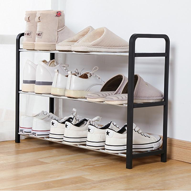 Non-woven shoe storage rack, hall closet, adjustable storage rack, removable storage rack shoe door, DIY, easy to install