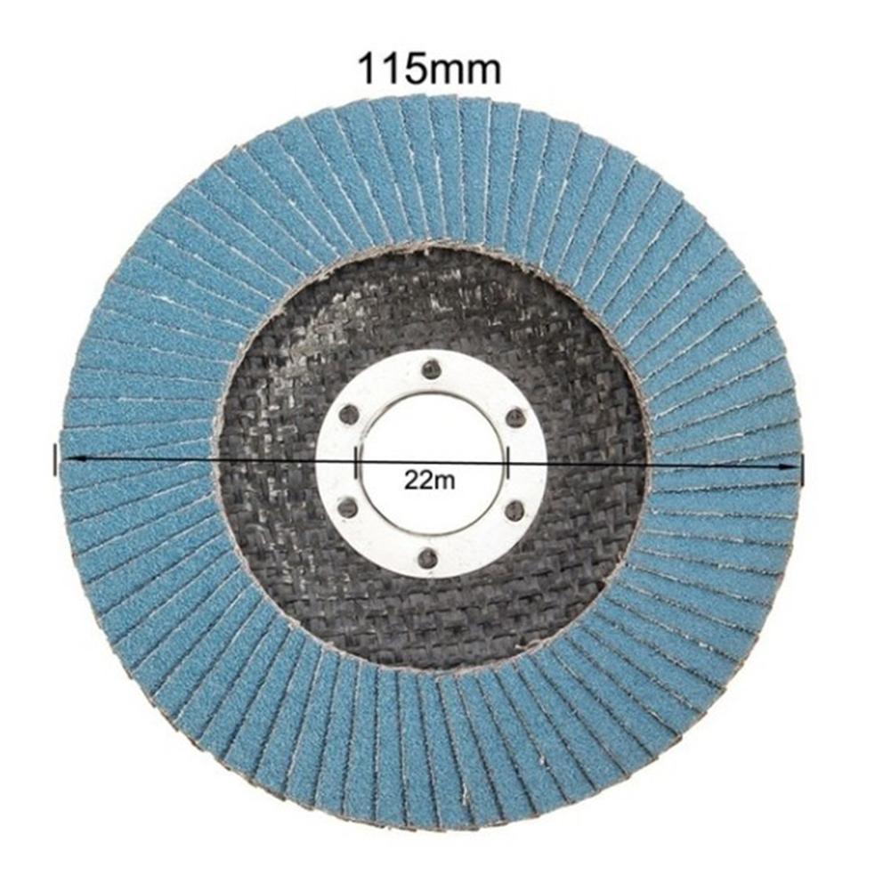 10tk professionaalsed klapikettad 115mm 4,5 lihvkettad 40/60/80/120 - Abrasiivtööriistad - Foto 6