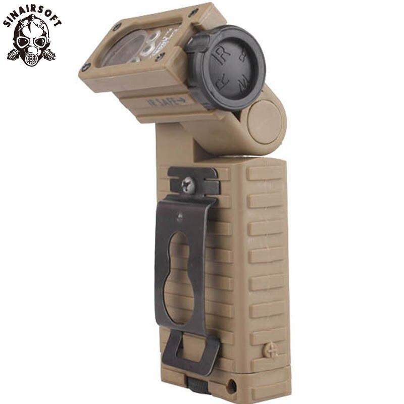 SINAIRSOFT, casco táctica militar, luz estroboscópica ahorradora de vida (Dummy), casco Airsoft, supervivencia, caza, Paintball (sin función)