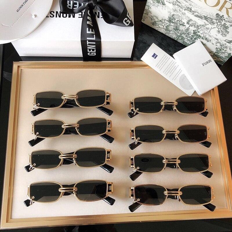 2020 nuevas gafas de sol coreanas de diseñador para hombres y mujeres, gafas de sol suaves gw002 de alta calidad con protección UV eficiente, gafas de sol de moda