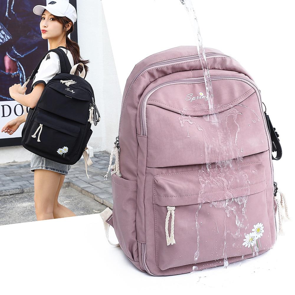 школьные рюкзаки thorka школьный рюкзак mc neill ergo light plus милашка 4 предмета Повседневные школьные ранцы для девочек, женские рюкзаки, модный школьный нейлоновый рюкзак, школьный рюкзак, рюкзак, Детская сумка, рюкзак