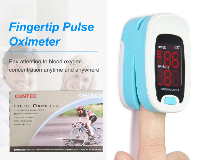 CMS50M-Finger-Tip-Pulse-Oximeter-Blood-Oxygen-Monitor-SPO2-PR-HR-Cadeau