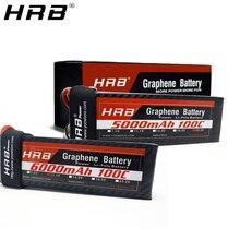 HRB graphène 3S Lipo batterie 11.1V 5000mah 6000mah 4000mah 3800mah 3000mah 2S 7.4V 4S 14.8V 5S 6S 22.2V RC avions pièces XT60