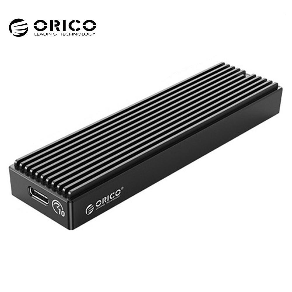 ORICO M.2 NVME carcasa USB C Gen2 10Gbps PCIe SSD caso M2 SATA NGFF USB 10Gbps SSD caja para 2230/2242/2260/2280 GB SSD