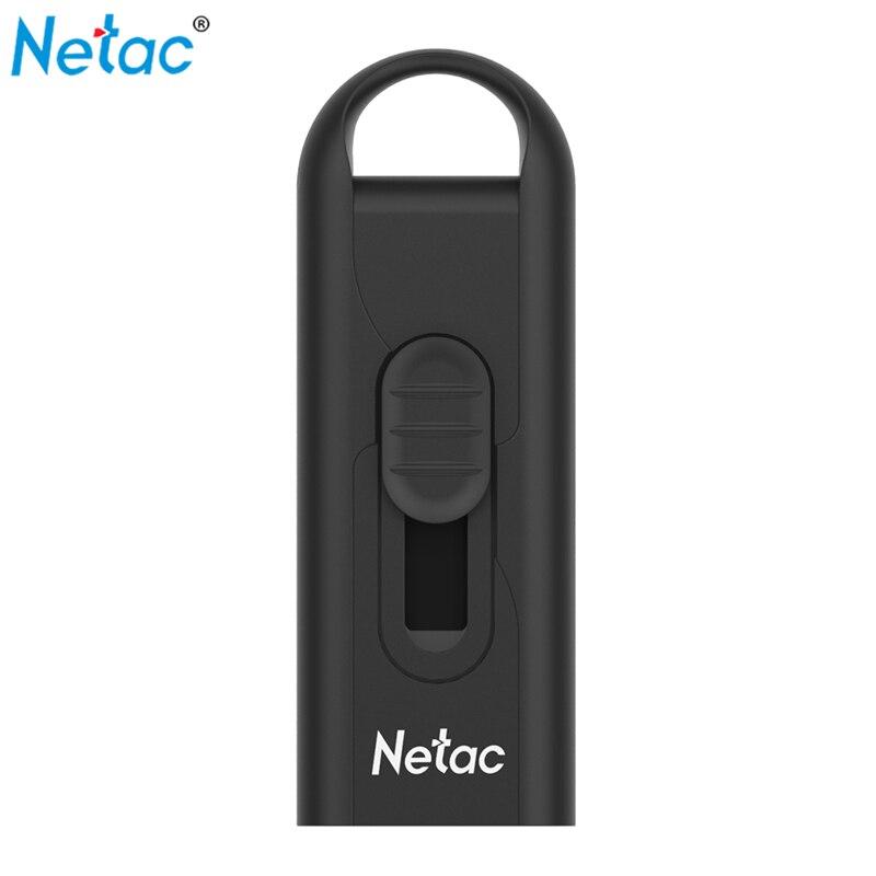 Netac U309 USB3.0 Flash Drive Disk 16GB 32GB 64GB 128GB USB Stick Pendrive Mini U Disk Memory Flash Drive Flash Storage Device