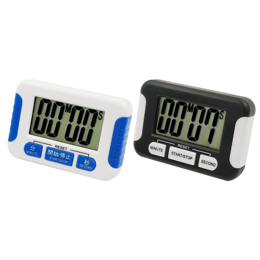 De mano profesional cronógrafo cocina temporizador de gimnasio Plaza cocina alarma con cuenta atrás reloj temporizador electrónico