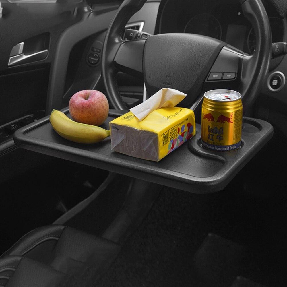 Escritorio de coche, ordenador portátil, mesa de dirección, para comer, trabajar, beber, comida, café, mercancías, bandeja, accesorios para coche, almohadilla portátil