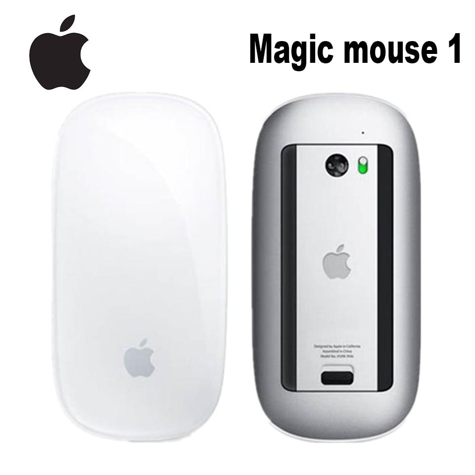 Original Apple Magic Mouse 1 Wireless Bluetooth Maus für Mac Buch Macbook Air Mac Pro Ergonomisches Design Smart Multi Touch maus