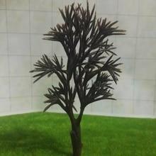 Wholesale 60mm-100mm simulation model tree Landscape Train Model Scale architectural scenery
