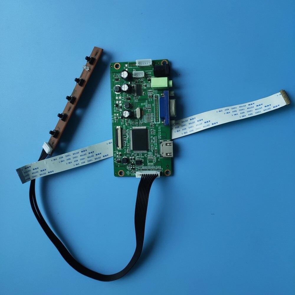 ل B125XTN01.0 HW0A/B125XTN01.0 HW3A لتقوم بها بنفسك EDP LED عدة VGA 1366X768 30pin سائق لوحة الشاشة شاشة عرض تحكم LCD HDMI