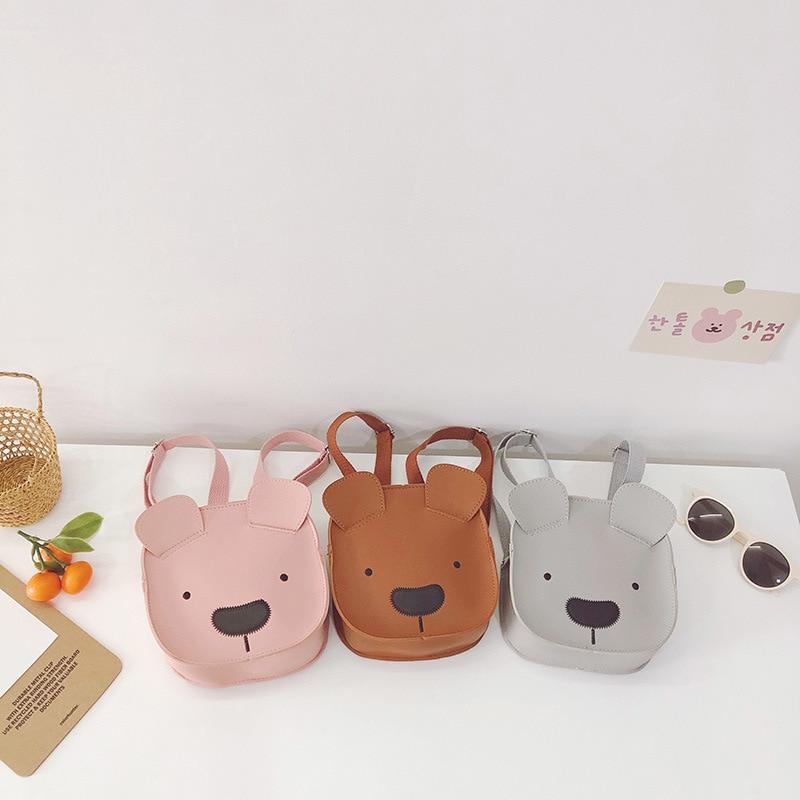 Cute Toddler Baby Messenger Bag Children Kids Girls Princess Shoulder Bag Handbag PU Bag Children Backpack Shoulder Bag