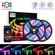RGB-ленсветильник светодиодная с дистанционным управлением для комнавечерние, SMD 5050