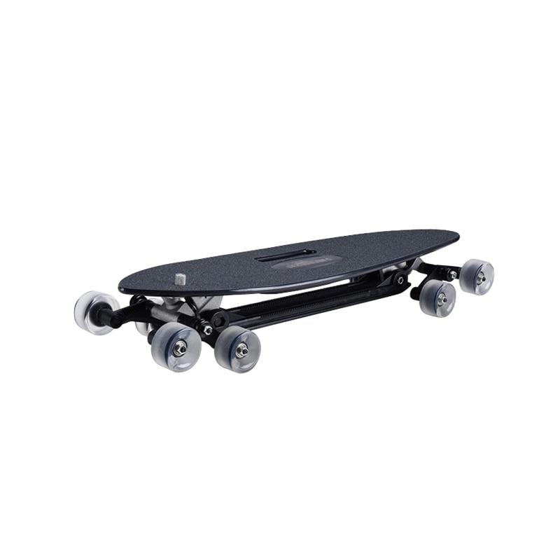 8 Wheels Longboard Skateboard Flashlight Complete Plastic Surfboard Skateboard Street Brushing Deskorolka Outdoor Sports BI50SB