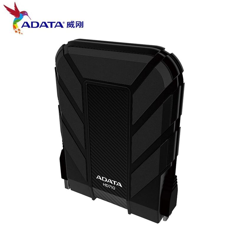 AData New External HDD 1TB 2TB HD710 Pro USB3.1 2.5-inch Portable Hard Drive Military Standard Shockproof IEC Dustproof enlarge
