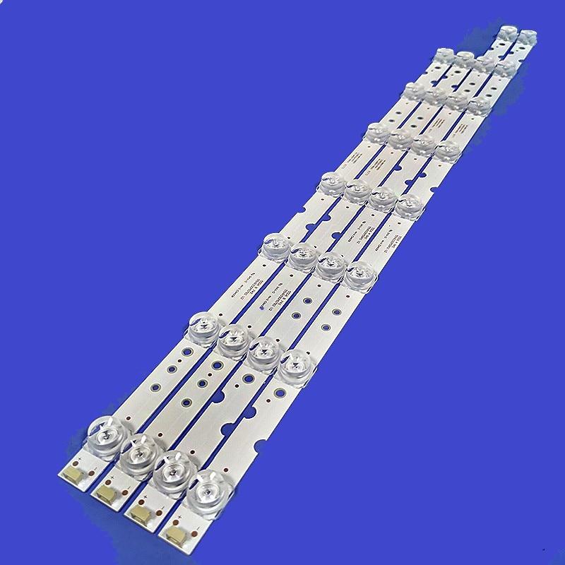 LED قطاع 4C-LB5508-HR03J 4C-LB5507-HR03J 55HR330M08A2 V2 55HR330M08B2 ل TCL D55A730U D55A620U D55A360 55F6 55L2 55L68 55U3800