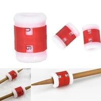 2pcslot diy knitting row counter mini multi purpose stitch needle loop weave craft tool wholesale