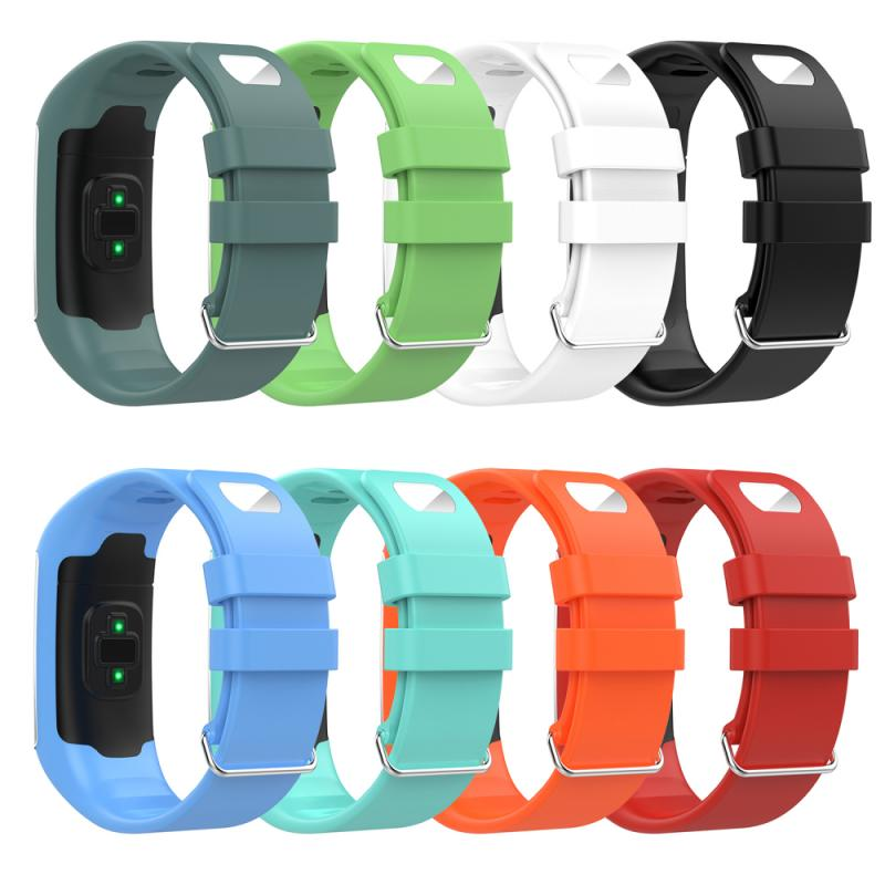 Silicone Wristband Strap For Polar A360 A370 Sports Smart Watch Replacement Watchband Bracelet Smart Watchband Accessories