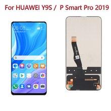 ЖК дисплей 6,59 дюйма для Huawei Y9S, дисплей для телефона L22 LX3, ЖК дисплей с сенсорным экраном для замены для Huawei P Smart Pro 2019, ЖК дисплей