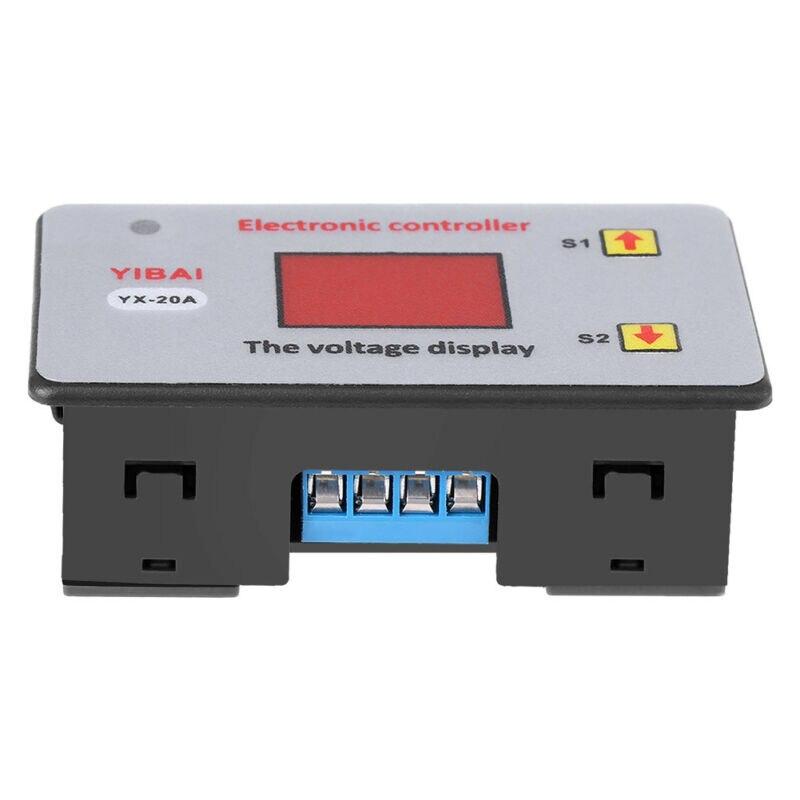 Componente de reemplazo de la placa del módulo del controlador de Control de la batería 6 V-48 V YX815 20A