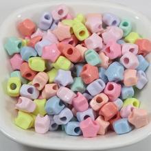 200 Gemengde Pastel Kleur Acryl Mini Star Pony Beads 8Mm Voor Kids Craft Armbanden