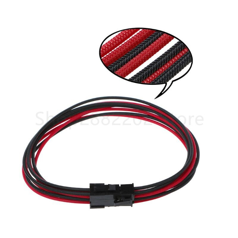 6pin to 2 8pin 6 2 pin for miner molex 6 pin pci e to 2 pcie 8 6 2 pin graphics video card pci e vga splitter hub power cable Sleeved graphics card PCI-E GPU 8 Pin to 6+2 Pin PCI-E Power Extension Cable DIY Q81E