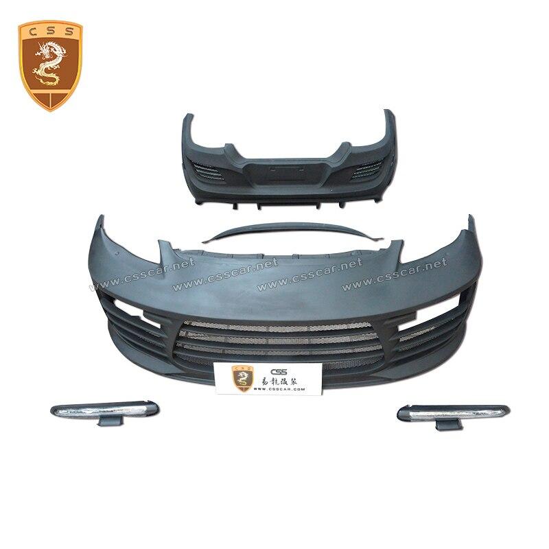 2009-2013 para 971 kit de carrocería de coche de fibra de carbono para difusor de parachoques trasero labio Spoiler Splitter para Porsch Panamer 971 estilo topcar