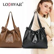 Women Bag PU Leather Bags Luxury Handbags Large Capacity Shoulder Bag Ladies Hand Bags Big Black Totes Women Purse And Handbags
