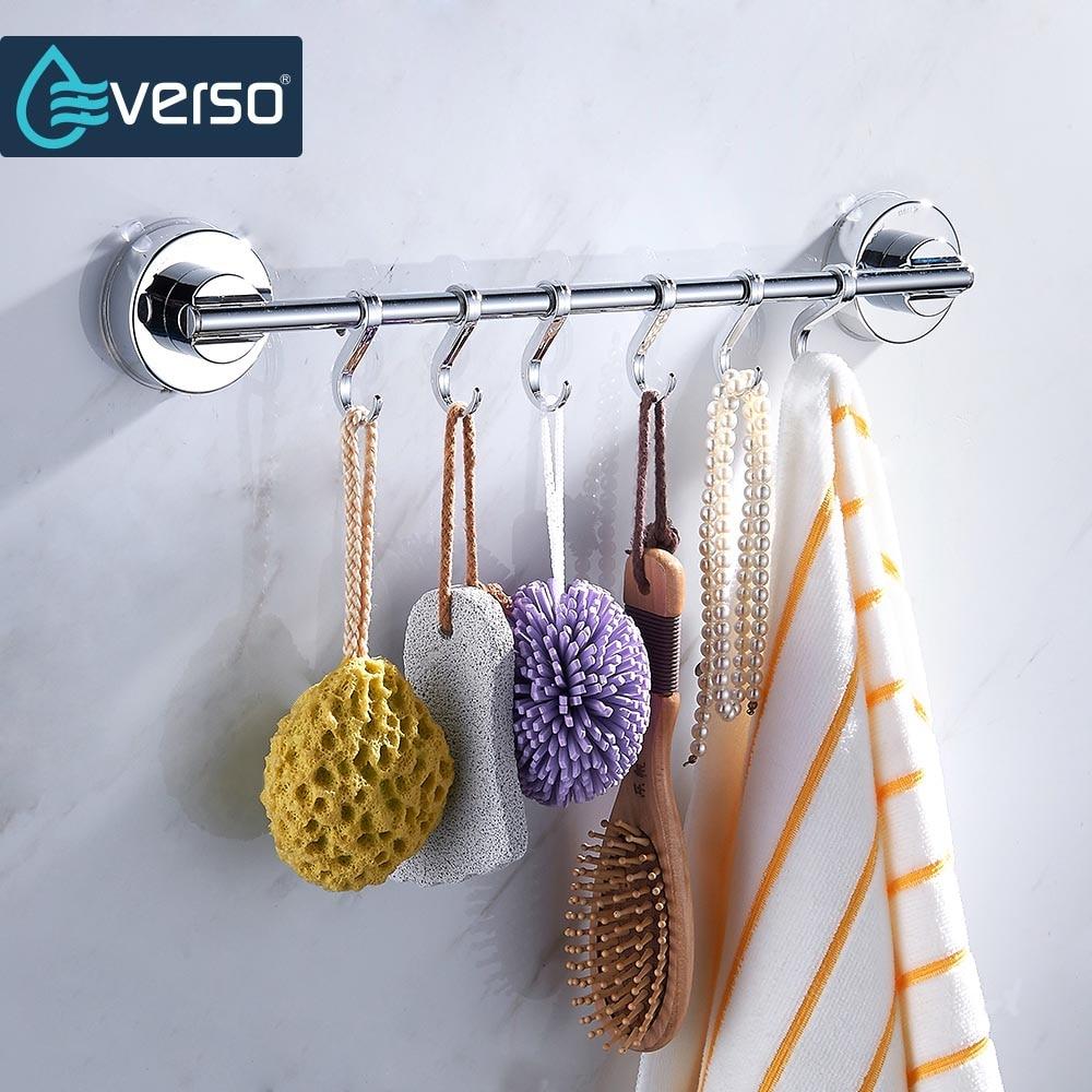Everso крючок для кухонного шкафа из нержавеющей стали, органайзер для хранения, держатель для кухни, спальни, ванной, крючок для разного белья