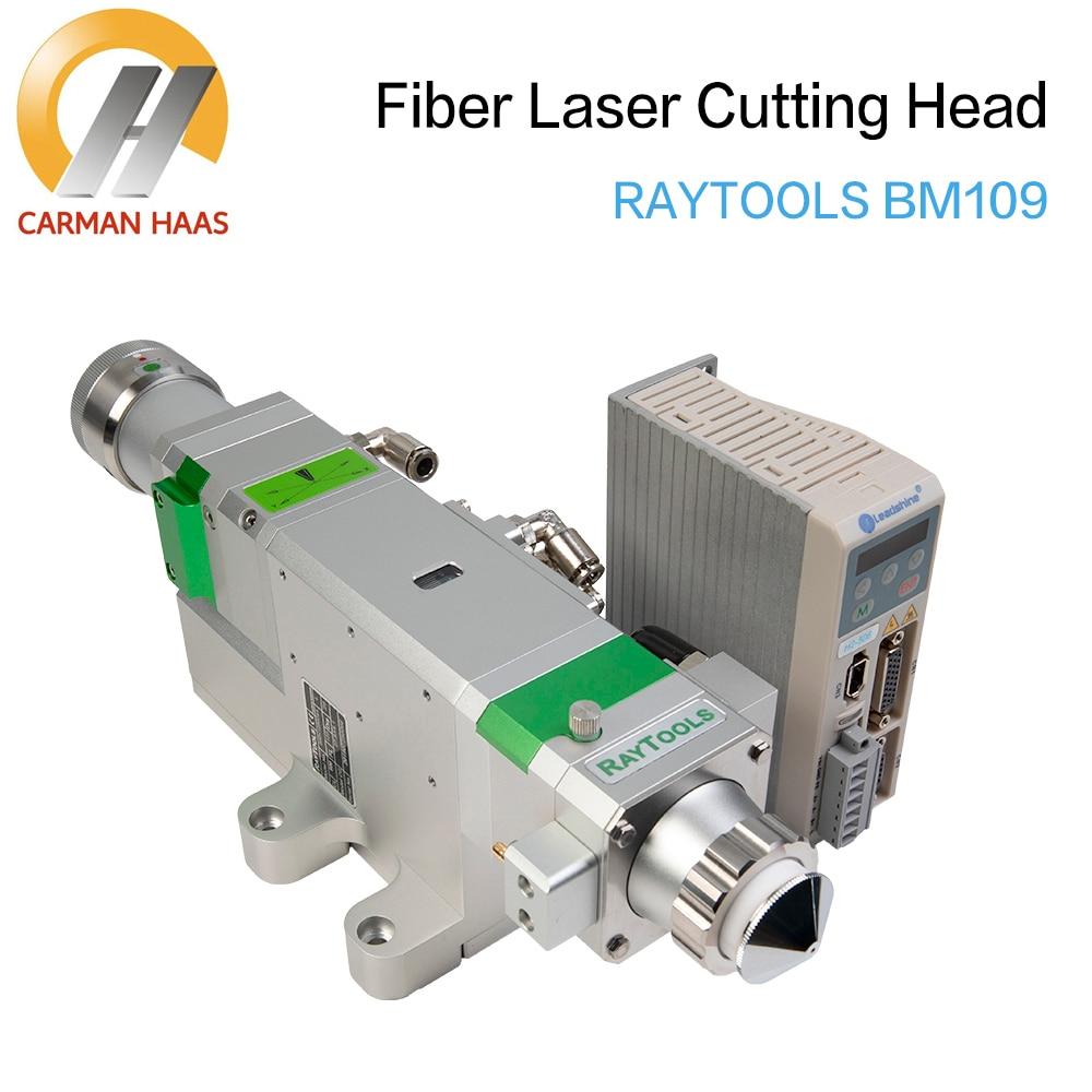 Raytool Cutting head BM109 Autofocus 1500W Fiber Laser Cutting Head for Metal Cutting enlarge