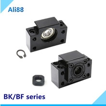 Support dextrémité BK BF BK/BF10 BK/BF12 EK/EF10 EK/EF12 pour vis à billes SFU1204 SFU1605 SFU2005