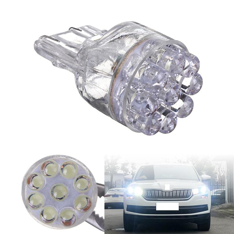 10 шт./лот T20 7443 7440 Автомобильные светодиодные стоп-сигналы лампы указатели поворота лампа заднего хода для парковки DC12V