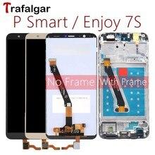 Trafalgar Display Per Huawei P Smart Display LCD Digitizer Touch Screen Per Huawei P Smart Display Con Cornice FIG LX1 l21 L22