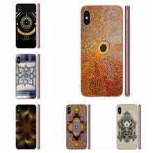 Gold Mandala Tribal TPU Mode Handy Für Samsung Galaxy A71 Hinweis 10 Plus A51 Fall A50 EINE 71 EIN 51