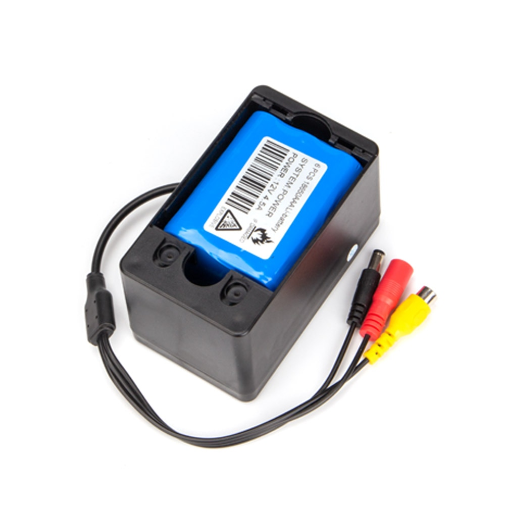 SYANSPAN Pipe Inspection Video Camera 4500mah Battery Box,Drain Sewer Pipeline Industrial Endoscope System Cell Box