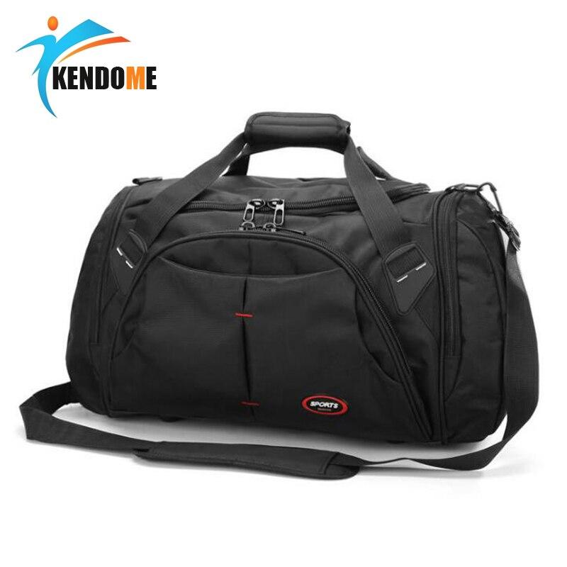 Top Qualität Große Größe Wasserdichte Outdoor Sport Training Handtasche Sporttasche Männer Frauen Unabhängige Schuhe Lagerung Schulter Tasche
