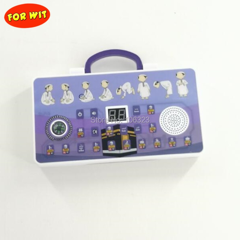 Speacker para estera de oración electrónica musulmana, Kit de controlador de juguete de alfombra para orar, parte de juguete de sonido de Manta Audible con auriculares gratis