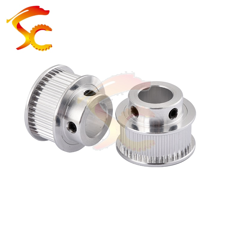 40 teeth GT2 Timing Pulley Bore 5mm 6.35mm 8mm 10mm 12mm 14mm for width 10mm GT2 Timing Belt Small backlash 2GT Belt 40T 40Teeth