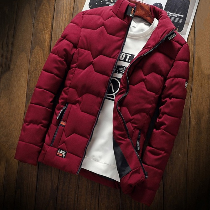 black white autumn winter cotton slim baseball jacket zipper casual coat big size s 3xl student girl jackets clothes Autumn Winter New Jacket Fashion Trend Casual Thickened Warm Cotton-Padded Clothes Slim Baseball Coats Size Down Warm Jacket
