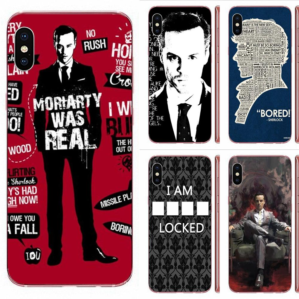 Jim Moriarty Sherlock Holmes Multi colores para Huawei Nova 2 V20 Y3II Y5 Y5II Y6 Y6II Y7 Y9 G8 G9 GR3 GR5 GX8 primer 2018 de 2019