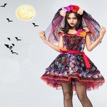 Mariage fantôme mariée Cosplay vaudou poupée Costumes Halloween terreur Costumes pour femmes adulte effrayant Anime Cosplay filles