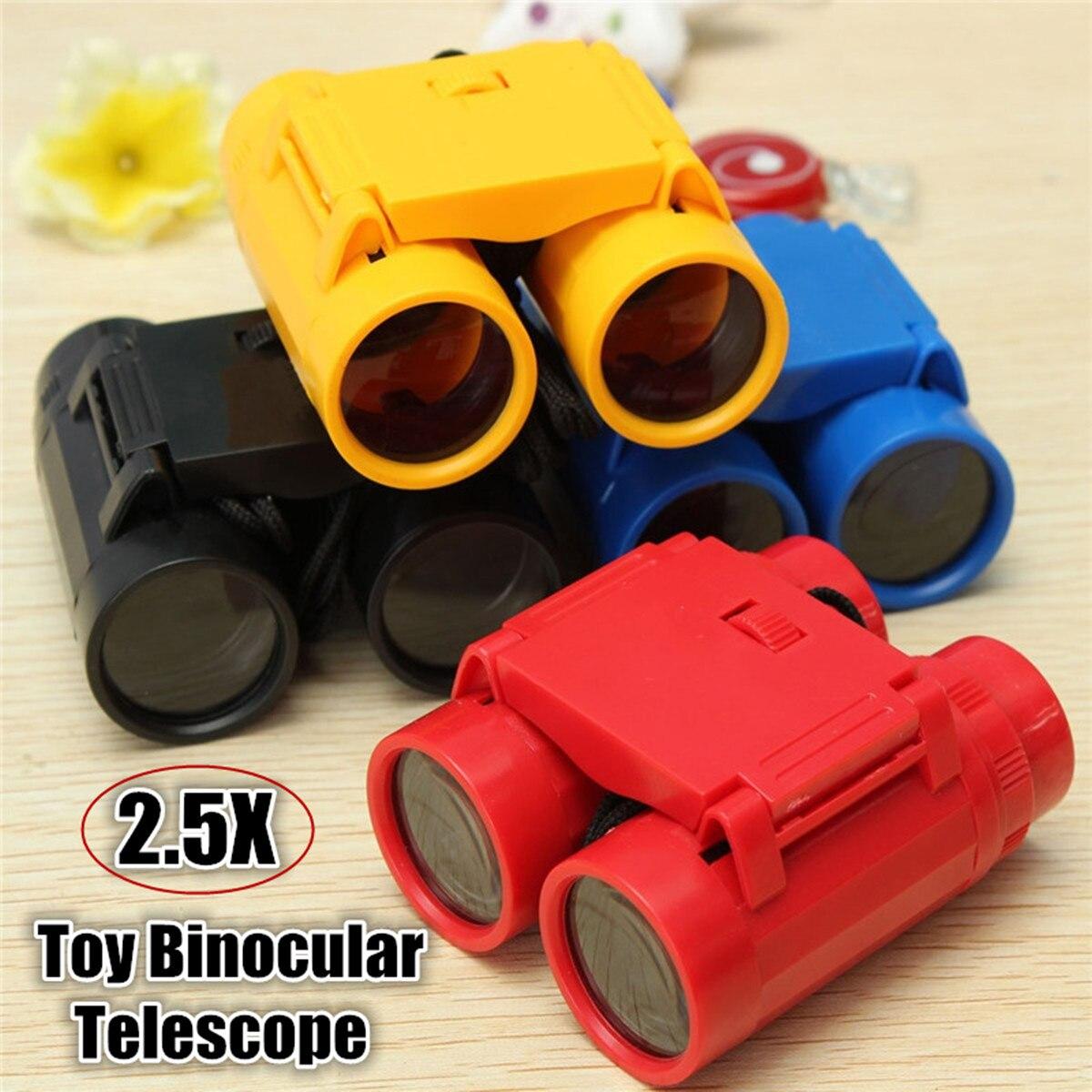 Folding Outdoor Mini Binoculars Telescope 3.9x2.7in 2.5X26 Scope Camouflage Toy Kids Boy Portable Children Gift Hunting Sports