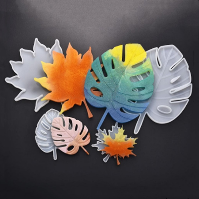 Черепаха лист/кленовый лист зеркало силиконовая форма DIY помадка торт украшения формы, арома свеча, горки украшения формы, ремесла