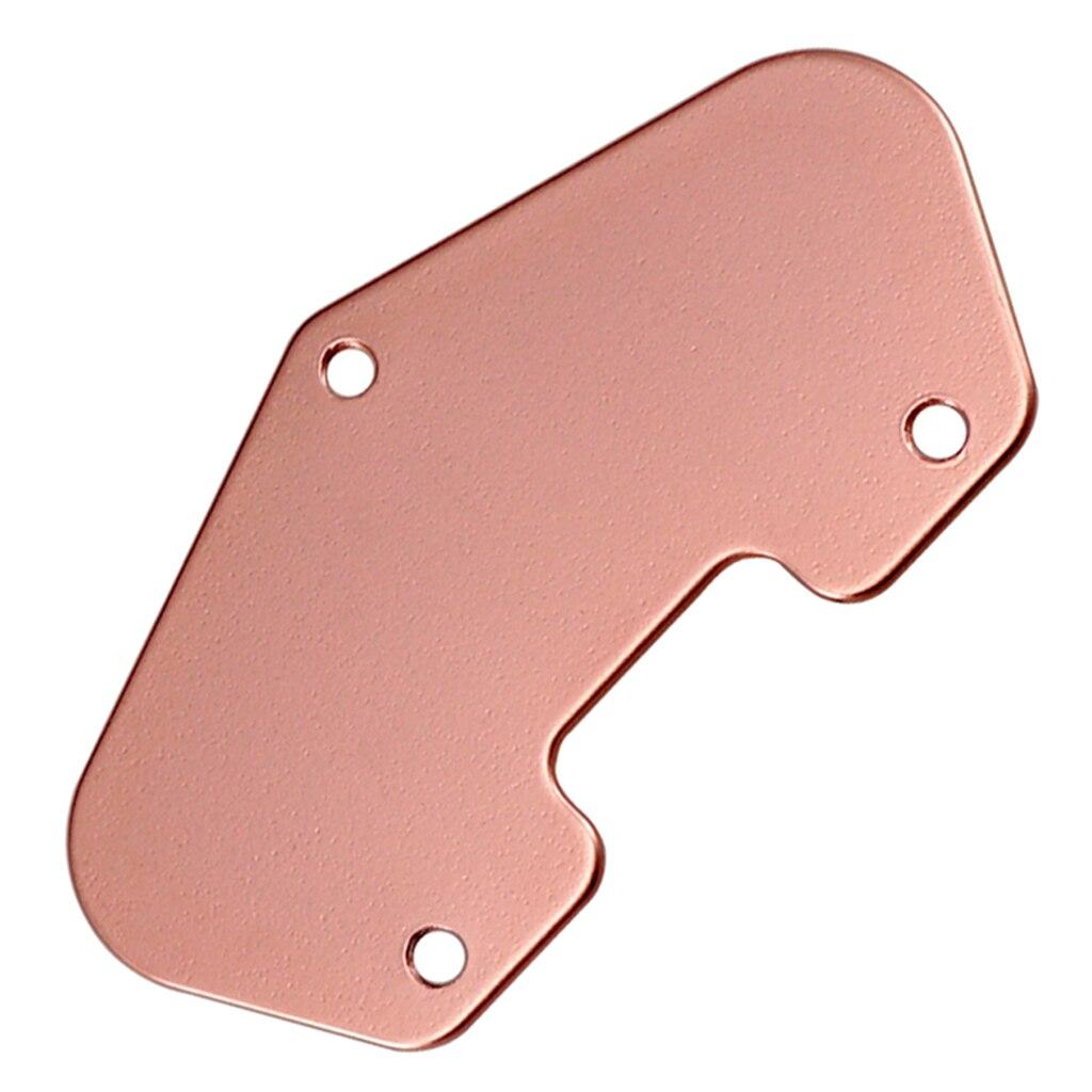 Placa base de pastilla Humbucker de guitarra de cobre rojo para piezas de instrumentos de guitarra de cuerdas eléctricas TL