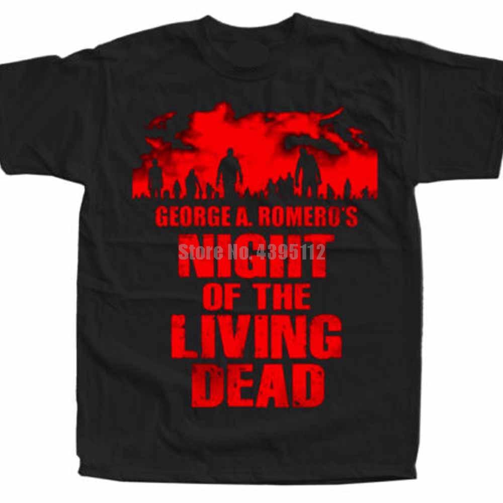 Cartel de Noche de los muertos, camisetas de Harajuku para hombres Gay, camisetas de Horror, camisas Loki, Harajuku Hmgdti de Japón