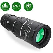 Grossissement monoculaires puissant 40X60 HD étanche en plein air chasse longue portée télescope Zoom optique lentille longue portée portée