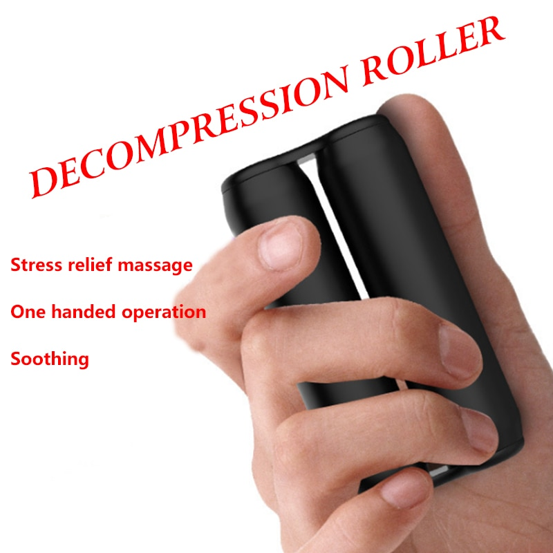 New Decompression Hand Toy Metal Antistress Hand Desk Toys Spinner Hand Massage Office Adult Toys Decompression Roller Stick enlarge