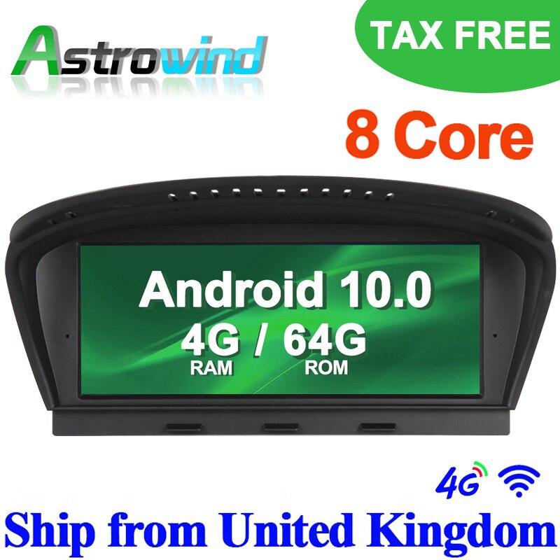 8,8 pulgadas 8 núcleos Android 10,0 Auto Player GPS sistema de navegación Media Stereo para BMW Serie 3 E90 para BMW serie 5 E60 con CCC