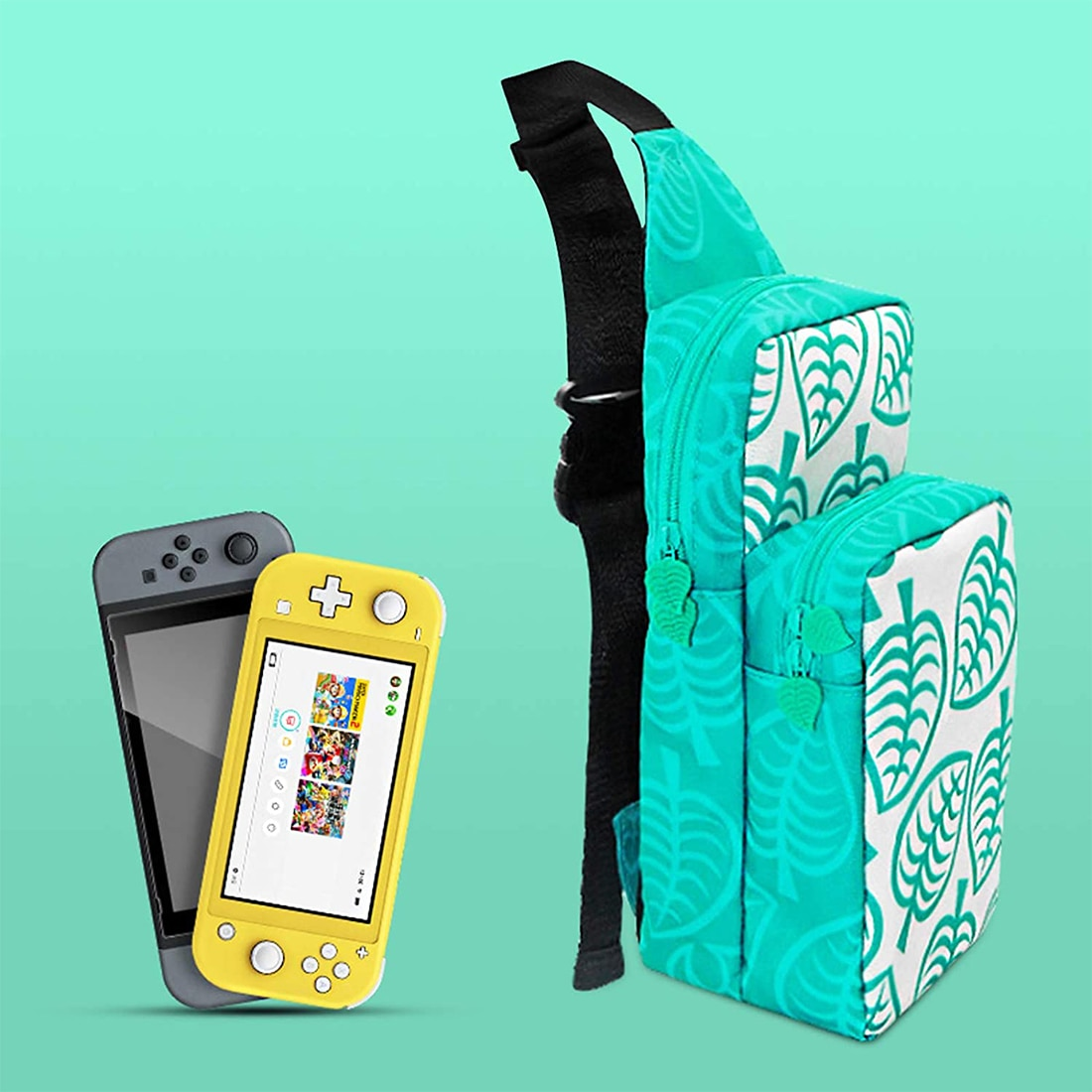 Cute Travel Bag Portable Shoulder Bag Case Storage Backpack for Nintend Switch Console Dock Joy-Con Grip & Switch Accessories